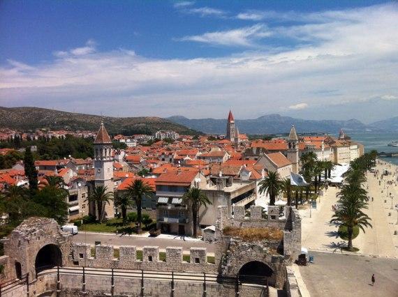Die Altstadt vom Festungsturm aus gesehen