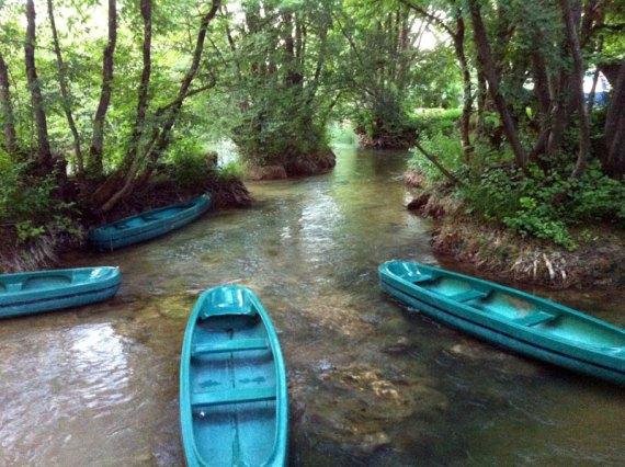 Am Fluss Mrežnica