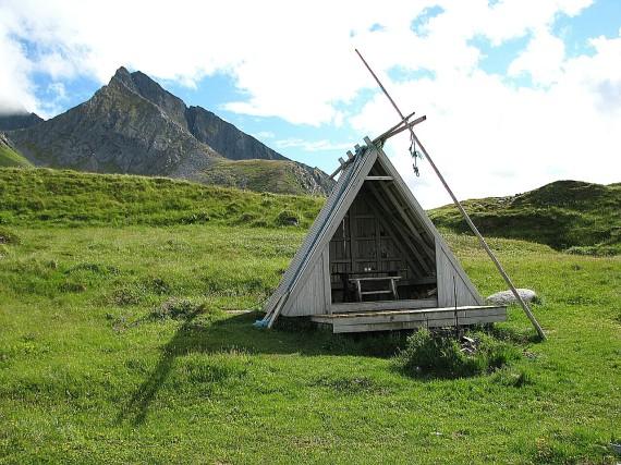 Einsiedelei auf den Lofoten