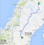 Die dritte Etappe führt uns von Ytterhogdal bis Jokkmokk (750 km).