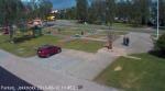 Wir bei der Webcam in Jokkmokk.