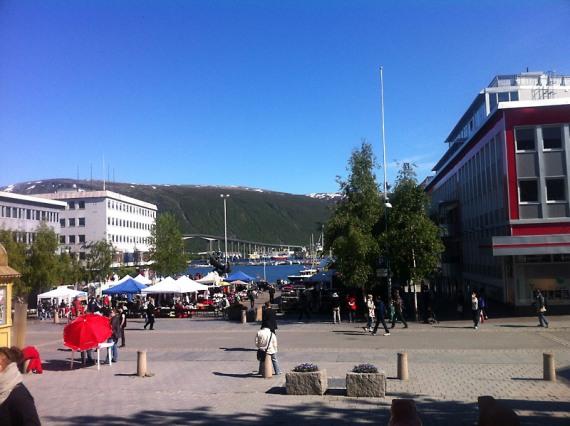 Stadtansichten Tromsø