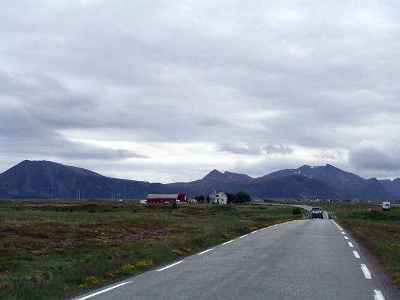 Pattes Land auf Andøya