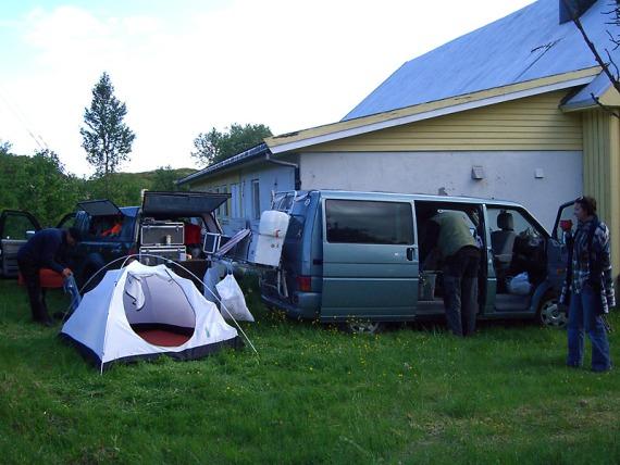 Noch ein Lost Camp bei Vestersand.