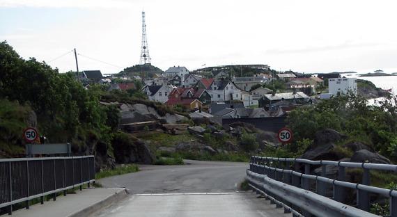 Blick auf Henningsvær