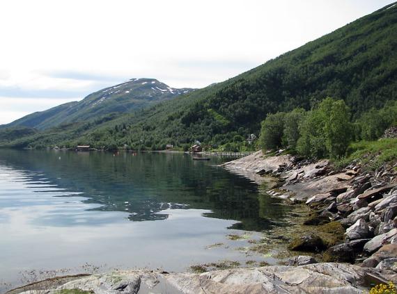 Ostküste von Sandhornøya