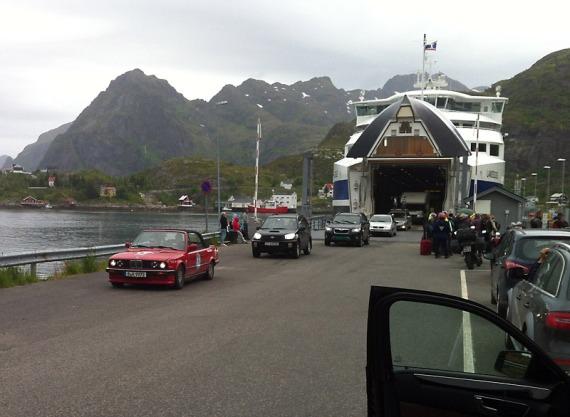 Cabrios scheinen beliebt auf der Baltic Sea Circle.