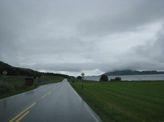 Heute ist es ein bisschen sehr grau entlang der Fv17.