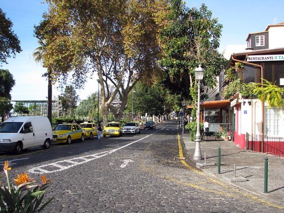 Am Stadtpark von Funchal