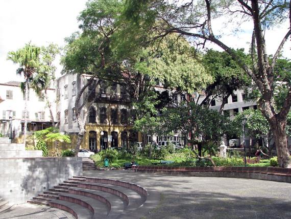 Jardim Muncipal im Zentrum von Funchal