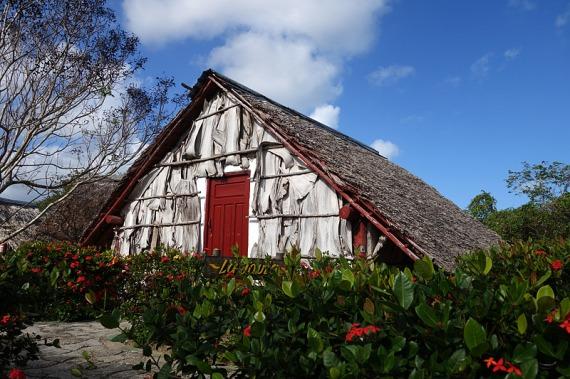 Unsere Hütte auf der Sitio La Güiria