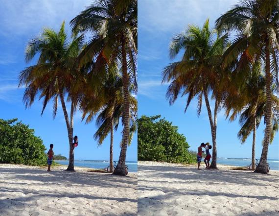 So besorgt man sich eine Gratis-Erfrischung, Playa Girón