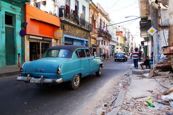 Calle Neptuno, La Habana