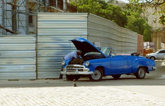 Irgendeine Haube ist immer offen, La Habana