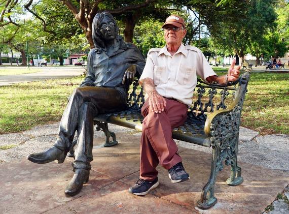 Parque Lennon, La Habana