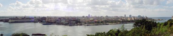 Panorama von Havanna von Casablanca aus