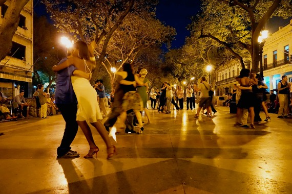 Tango auf dem Prado, La Habana