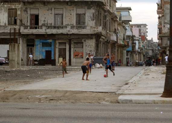 Fútbol, La Habana